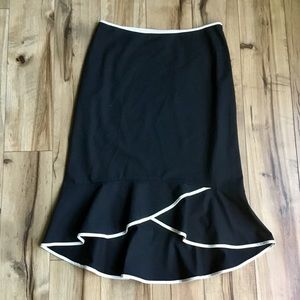 The Limited Pencil Skirt With Mermaid Hem, Sz 4